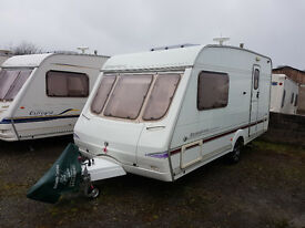 swift two berth caravan,