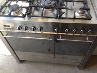 Silver Range gas cooker 90cm ..bargain free delivery