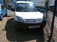 2005 citroen berlingo van1.9 diesel 130.000 miles the van is sold with a full year mot