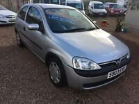 2003 Vauxhall Corsa Club 1.2 Automatic Only 46,000 Miles! MOT September 2017!