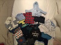 Baby boy bundle 9-1mths