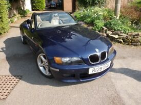 bmw z3 roadster 2.8 with hard top