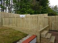 Decking and fencing , composite decking 10% off till the end of may