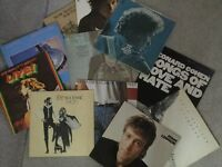 LPs records (vinyl) collection including Dylan,Clapton,Dire Straits,Fleetwood Mac and others £8