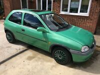 Corsa 1200 cc. 1997. Mot exp 03/2017. 2 owners from new. Good little runner. £350 Ono.