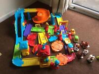 Vtech toot toot train station plus