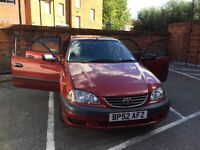 Toyota avensis Vermont 1 owner from new