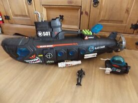 CHILDS SUBMARINE & MINI SUB WITH LIGHTS AND SOUNDS