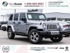 2016 Jeep Wrangler Unlimited Sahara/NAVI/LEATHER/HITCH/COLORED T
