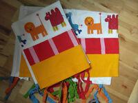 Ikea Barnslig Children Curtains Pair