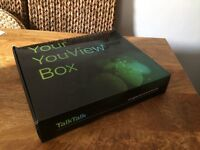 Talk Talk YouView Huawei DN370T 320GB Freeview PVR TV Box. HDMI, Ethernet and power cables provided.