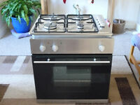 built in Gas hob and electric oven. very good condition