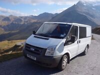 2006 Ford Transit converted camper - all camping equipment included