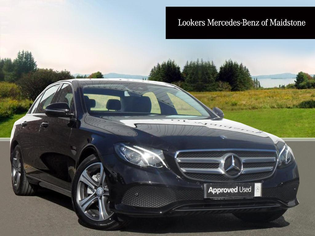 mercedes benz e class e 220 d se black 2017 03 03 in maidstone kent gumtree. Black Bedroom Furniture Sets. Home Design Ideas