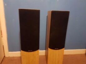 ACOUSTIC SOLUTIONS TALL STANDING SPEAKERS