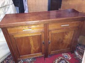 Wood Antique Cabinet