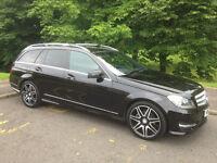 Mercedes-Benz C Class Estate S204 2.1 C220 CDI AMG Sport Plus 7G-Tronic Plus 5dr (2013)