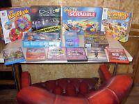 MECCANO - LEGO - BOARD GAMES - DVD GAMES