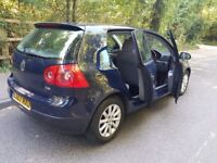 2007 Volkswagen Golf 2L diesel with full service history long MOT in excellent condition
