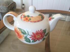 Royal Doulton sunburst teapot