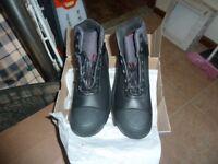 uvex steal toe cap boots