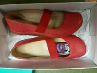 Brand new clark shoes size 7