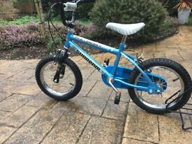 Boys Bike - 14'' designed by Raleigh (Suitable 4 - 6 years)
