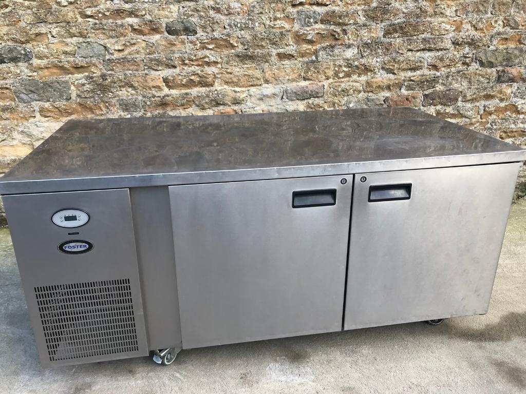 Bakery fosters counter fridge
