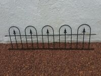 Metal Wall Railing - 6 sections
