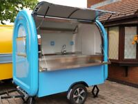 Mobile Catering Trailer Burger Van Sweets Trailer Hot Dog Food Cart Ready For Collection