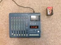 Tascam 424 MKIII portastudio cassette recording unit with 5XTDK cassettes