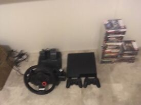 PS3 Bundle (With Logitech GT wheel and pedal)
