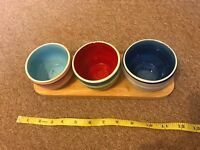 Whittard of Chelsea decorative bowls