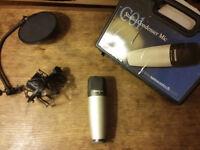 Samson C01 Condenser Microphone with Pop Shield & Cradle