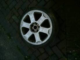 Audi s4 spare wheel