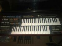 MC600 Electone Electronic organ with stool and manuel