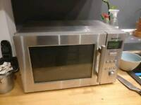 FREE Sharp stainless microwave and Tefal deep frier