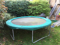 Trampoline (10ft) for £50