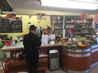 large retail premises consisting of profitable coffee shop and craft shop + income from 2 tenants