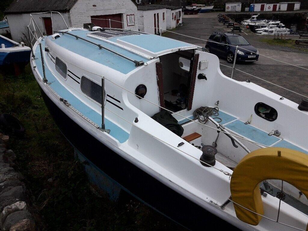 Yacht Sailing Boat 26 Foot Bilge Keel Diesel Inboard | in Ayr, South  Ayrshire | Gumtree