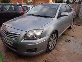 TOYOTA AVENISIS 2,0 D4D 2008 SAT NAV DVD COMES WITH FULL 12 MONTHS MOT HPI CLEAR DRIVES MINT MAY PX