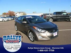 2013 Hyundai Elantra Limited! Sunroof! Alloy! Heated! Leather!