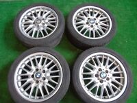 "BMW 1 SERIES 3 SERIES MV1 STYLE 17"" ALLOY WHEELS"