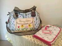 Yummy Mummy Blooming Gorgeous changing bag