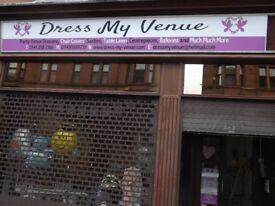 We are delighted to offer for sale this thriving Wedding Venue decoration and dressing business