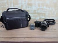 Sony NEX5TL Compact System Camera with SEL1650 Lens Kit, flash and carry case