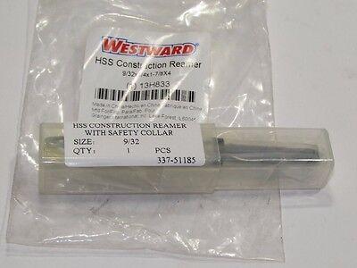 Westward Hss 13h833 Construction Reamer Straight Shank4in M2371