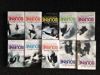 Set of 10 Bourne books