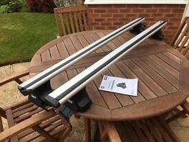 Thule roof bars for Honda Civic 2012 to 2016