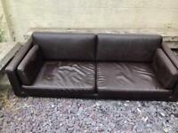 FREE ! Leather sofa